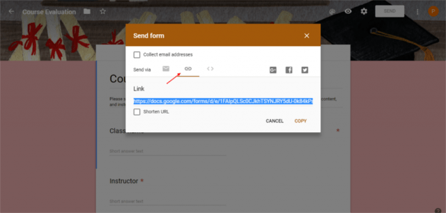 How to add Google Forms WordPress