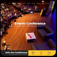 45 премиум тем WordPress на тему выставок, конференций и организации событий