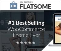 Flatsome — самая продаваемая WordPress тема для интернет магазина на WooCommerce