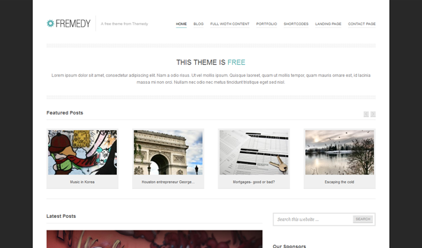 thesis like theme for wordpress Thesis theme is the best wordpress theme to use for both business websites and personal blogs we explain why, with the breakdown of 3 vital features making up this responsive wordpress theme.