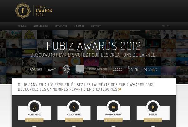 Fubiz-Awards 30 самых необычных и красивых сайтов, сделанных на WordPress по версии WPlift.com