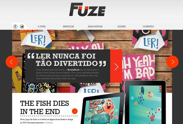 Fuze 30 самых необычных и красивых сайтов, сделанных на WordPress по версии WPlift.com