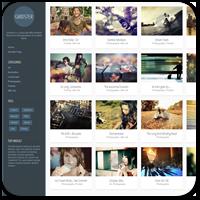 Gridster Lite — бесплатная тема WordPress для сайта портфолио