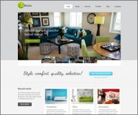 Interior — премиум тема WordPress, посвященная дизайну интерьера