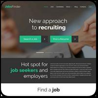 25 тем WordPress для сайта вакансий, доски объявлений и поиска работы