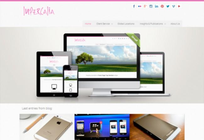 Lupercalia 650x448 26 лучших бесплатных WordPress тем в апреле 2014