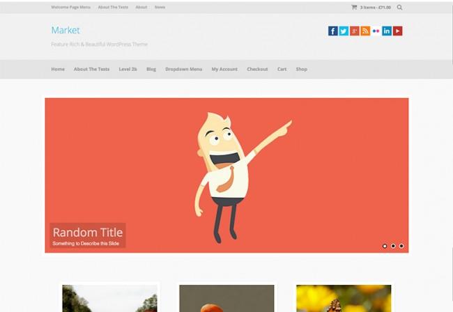 Market 650x448 26 лучших бесплатных WordPress тем в апреле 2014