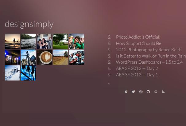 PHOTO ADDICT 17 лучших бесплатных WordPress тем в октябре 2013