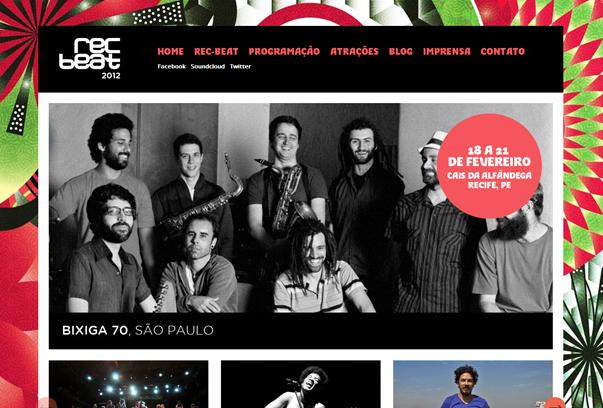 Rec-Beat 30 самых необычных и красивых сайтов, сделанных на WordPress по версии WPlift.com