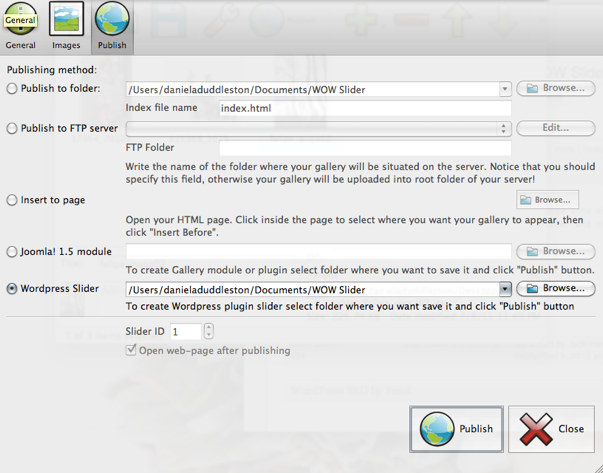 WOW Slider — бесплатный плагин для слайдера изображений