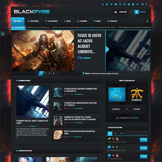 плагины вордпресс для игрового сайта