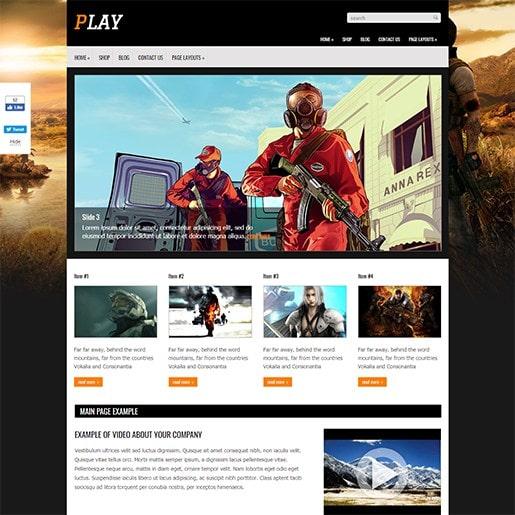 создаем игровые веб сайты