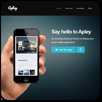 15 тем WordPress для рекламы и продвижения вашего мобильного приложения