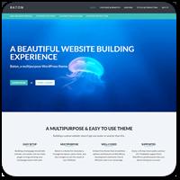 Baton Free — обзор новой бесплатной многоцелевой темы для WordPress