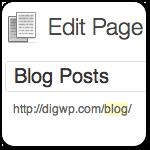 Отображение записей блога на любой странице (с навигацией)