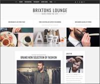 Brixton — минималистичная премиум тема WordPress для персонального блога
