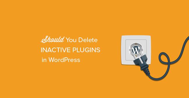 cap00-18 Неработающие плагины WordPress - есть ли  от них вред