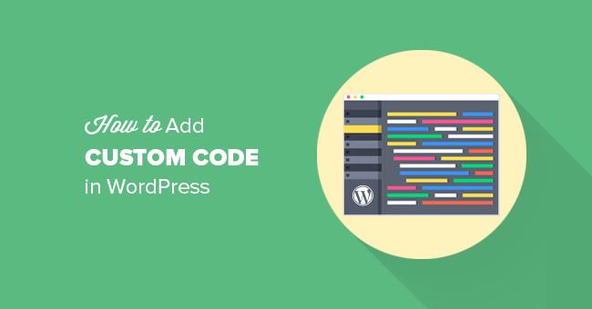 Как легко добавлять свой кастомный код в WordPress и не бояться что-то сломать