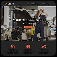 40 профессиональных тем WordPress на тему автомобилей и мотоциклов