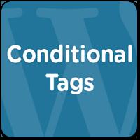 Знакомство с условными тегами (Conditional Tags) в WordPress