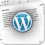 Настраиваем шаблон оформления в редакторе WordPress
