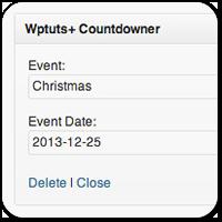 Создаем виджет с таймером обратного отсчета для WordPress
