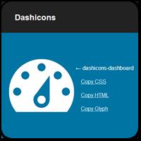 Используем иконки Dashicons для пунктов меню в консоли WordPress