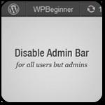 Как отключить верхнюю админ-панель в WordPress для всех пользователей кроме администраторов