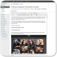 Как изменить ширину колонки в визуальном редакторе записей WordPress