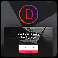 Черная Пятница! -25% на Divi 3.0 и все другие плагины и темы от Elegant Themes