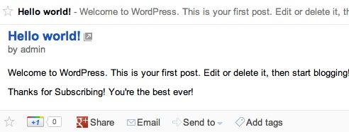 WordPress standart funktsiyalari uchun oddiy sozlamalar