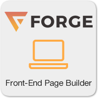 Forge — бесплатный Front-End Page Builder для WordPress