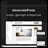 GeneratePress — обзор крутой стартовой темы для вашего нового проекта на WordPress