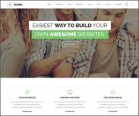 Hookie — новая тема WordPress на Bootstrap для креативных агентств