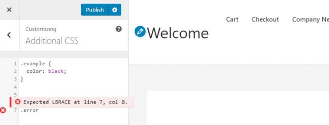 1-usul WordPress saytiga CSS-ni qanday qo'shish