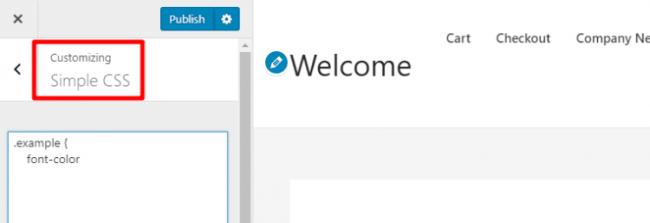 WordPress saytiga polshalik CSS-ni qanday qo'shish kerak