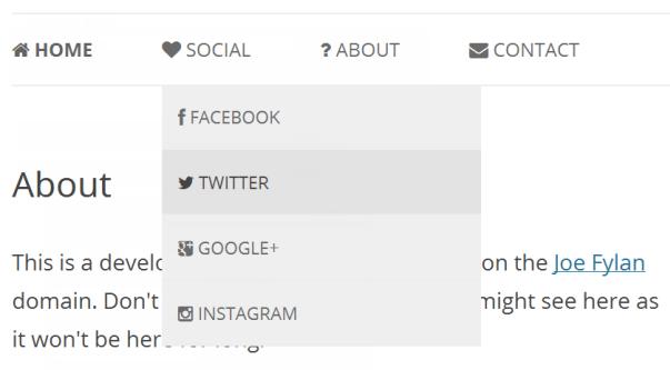 ... ' icon-iconname ' в поле ' CSS Classes ' в меню: https://wpcafe.org/tutorials/dobavlyaem-shriftyi-dlya-ikonok-v...