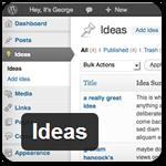 Бесплатный плагин WordPress для записи идей будущих постов