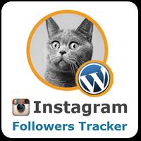 Instagram Followers Tracker — бесплатный плагин WordPress для показа статистики по подписчикам Instagram