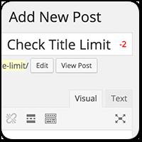 Как ограничить количество символов в заголовках постов WordPress