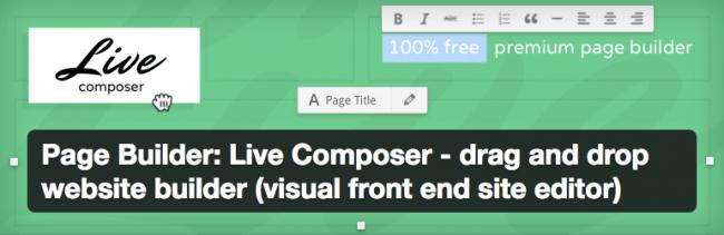 live composer page builder конструктор