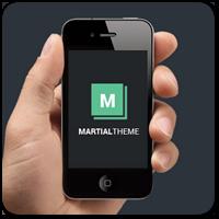 Martial — новая бесплатная тема WordPress для блога с поддержкой WooCommerce