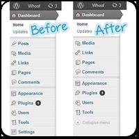 Удаляем пункты меню из Панели управления WordPress