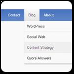 Как настроить свои стили для меню в WordPress