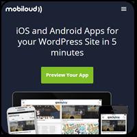 Создаем нативные iOS и Android приложения для WordPress сайта с помощью Mobiloud