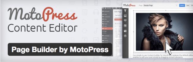 плагин motopress редактор контента