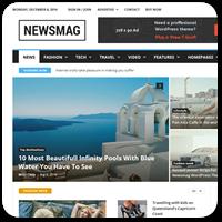 27 премиум тем WordPress для сайта новостей или онлайн-журнала