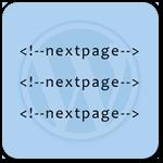 Как разбить запись WordPress на несколько страниц