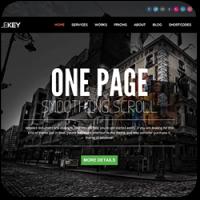 24 отличных One-Page тем для WordPress в 2013