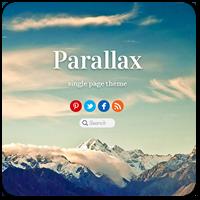 Параллакс эффект: бесплатные и премиум темы WordPress + плагины